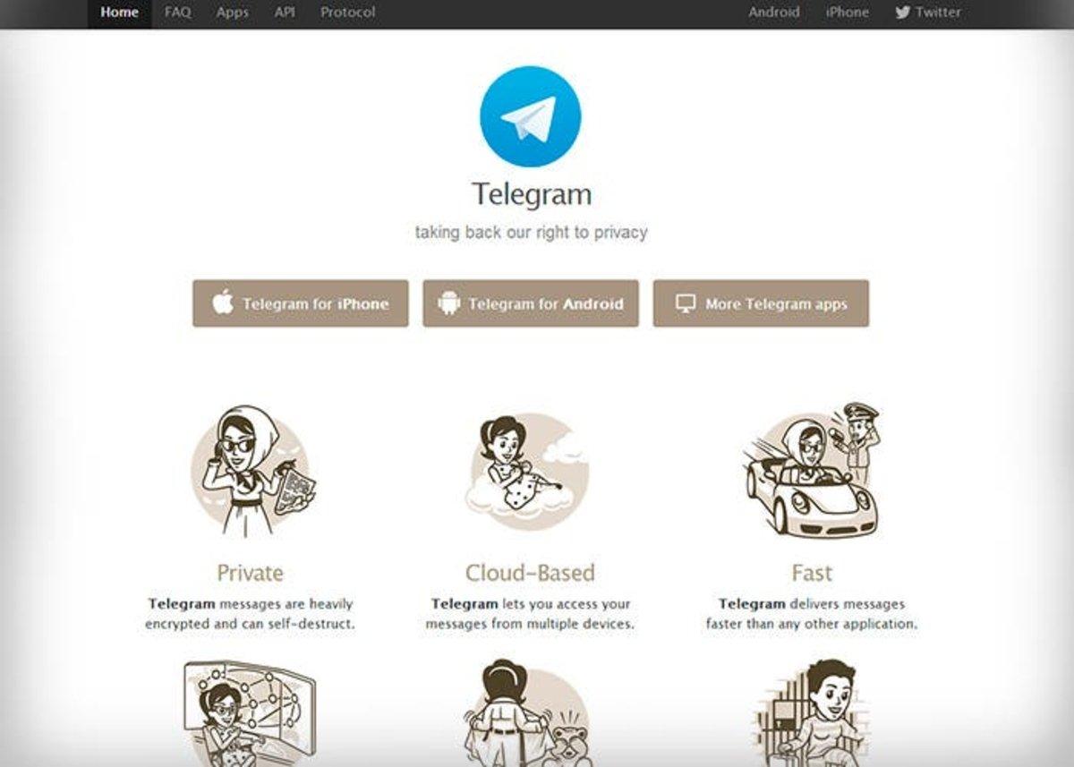Portada Telegram