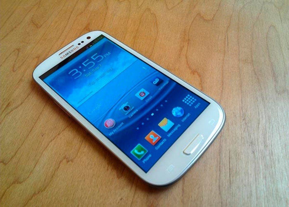 Samsung pantalla de inicio