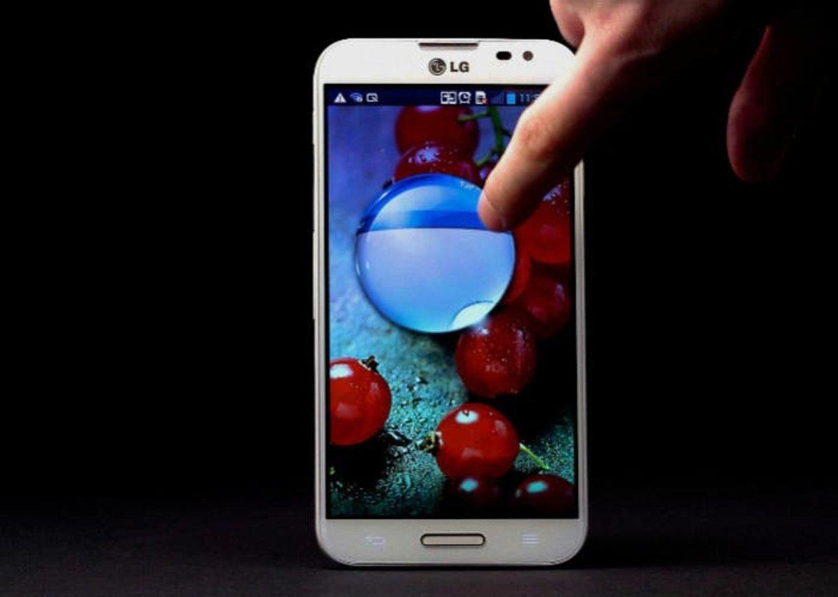 LG Optimus G Lockscreen