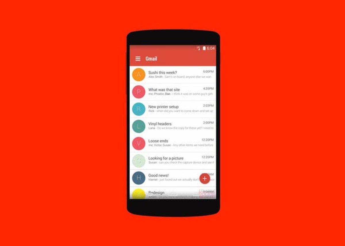 Instala Gmail 5.0