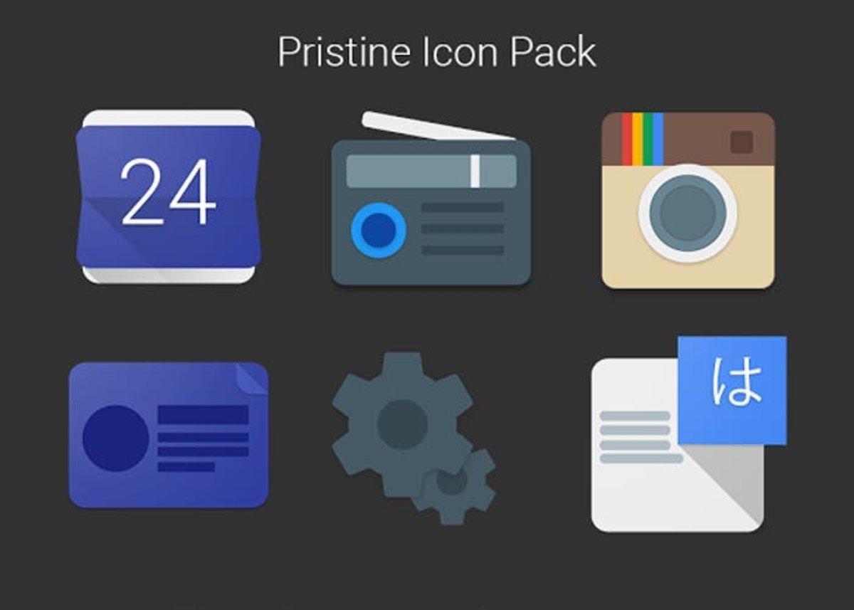 iconos pristine icon pack