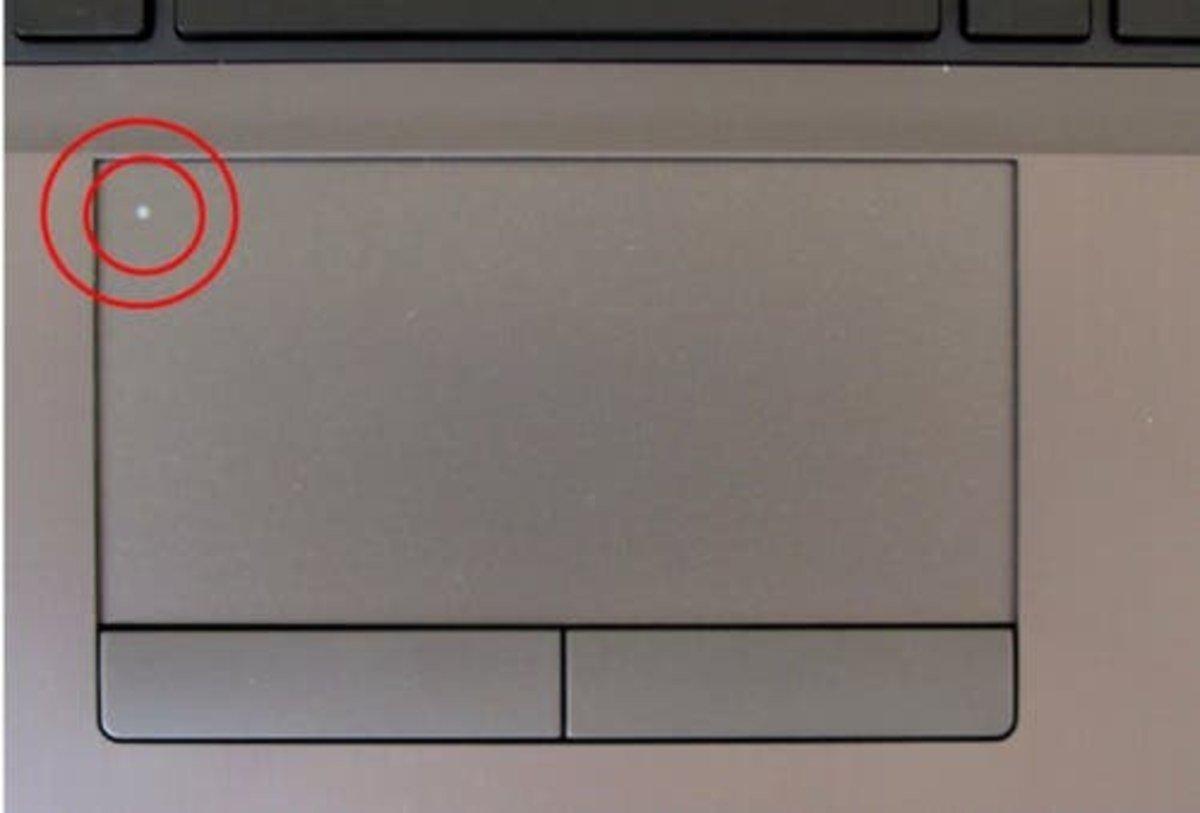 Touchpad bloqueado