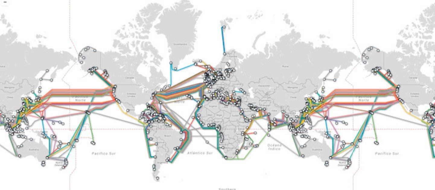 Así funcionan los desconocidos cables submarinos que te conectan a Internet