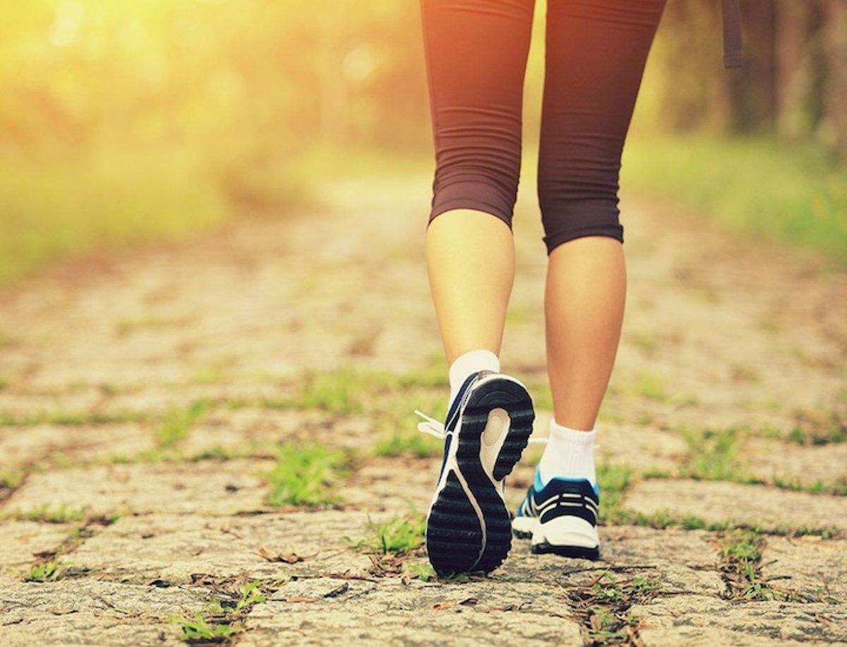 Si quieres estar en forma, tienes que andar mucho más de lo que crees