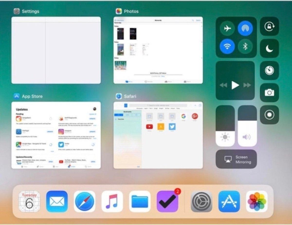 Así es iOS 11, el nuevo sistema operativo para iPhone y iPad