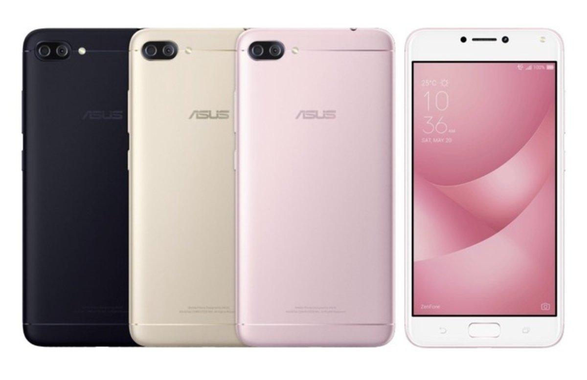 Alta conectividad y cámaras duales: así es la línea de smartphones ZenFone 4 de ASUS