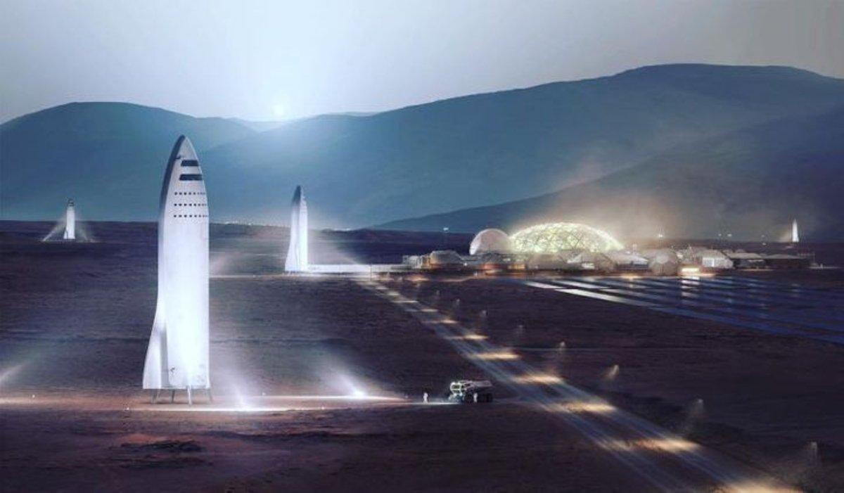 Así es como Elon Musk quiere colonizar Marte en menos de 10 años