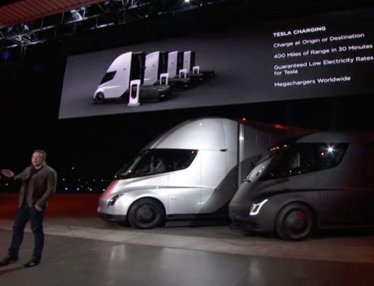 El camión Semi servirá para abaratar los otros modelos que comercializa Tesla