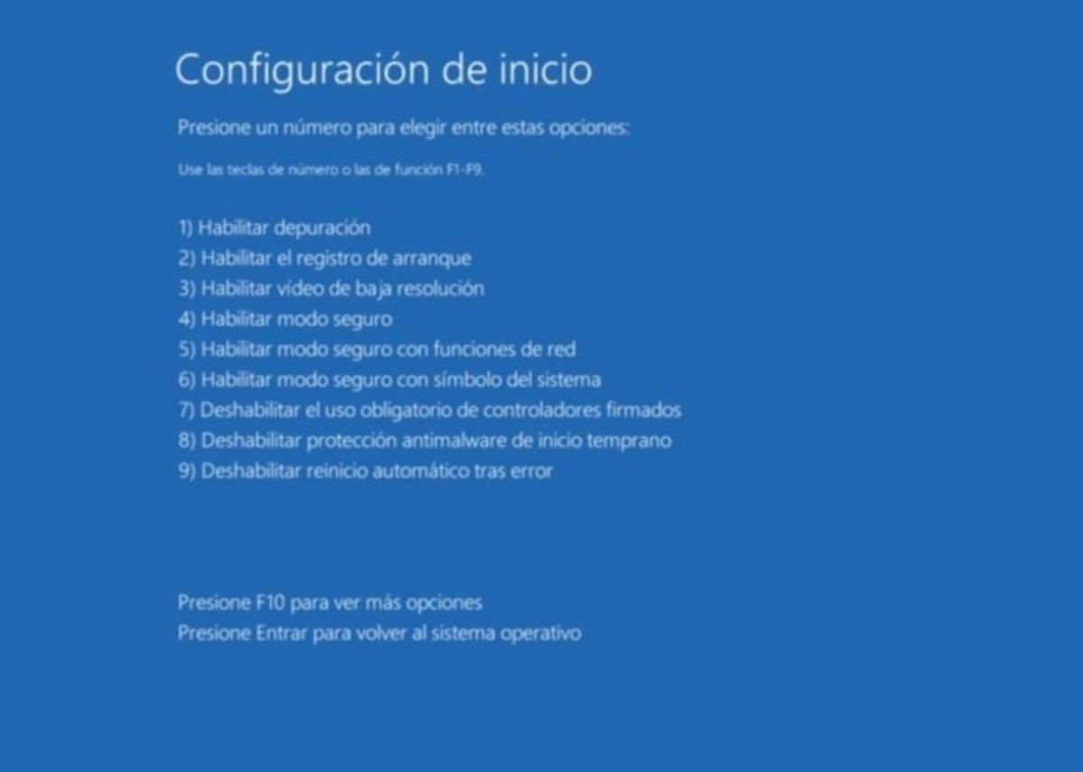 ¿Problemas al arrancar Windows 10? El inicio seguro y menú solucionar problemas al rescate