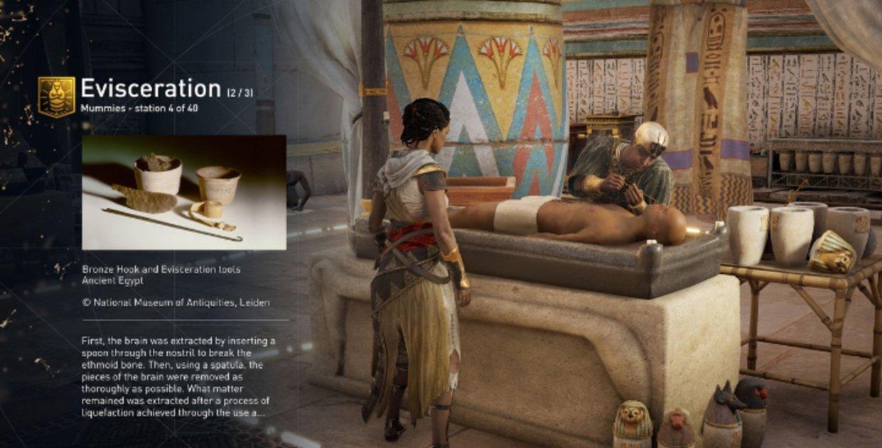 Conoce Egipto a fondo con el nuevo modo Discovery Tour de Assassin's Creed: Origins