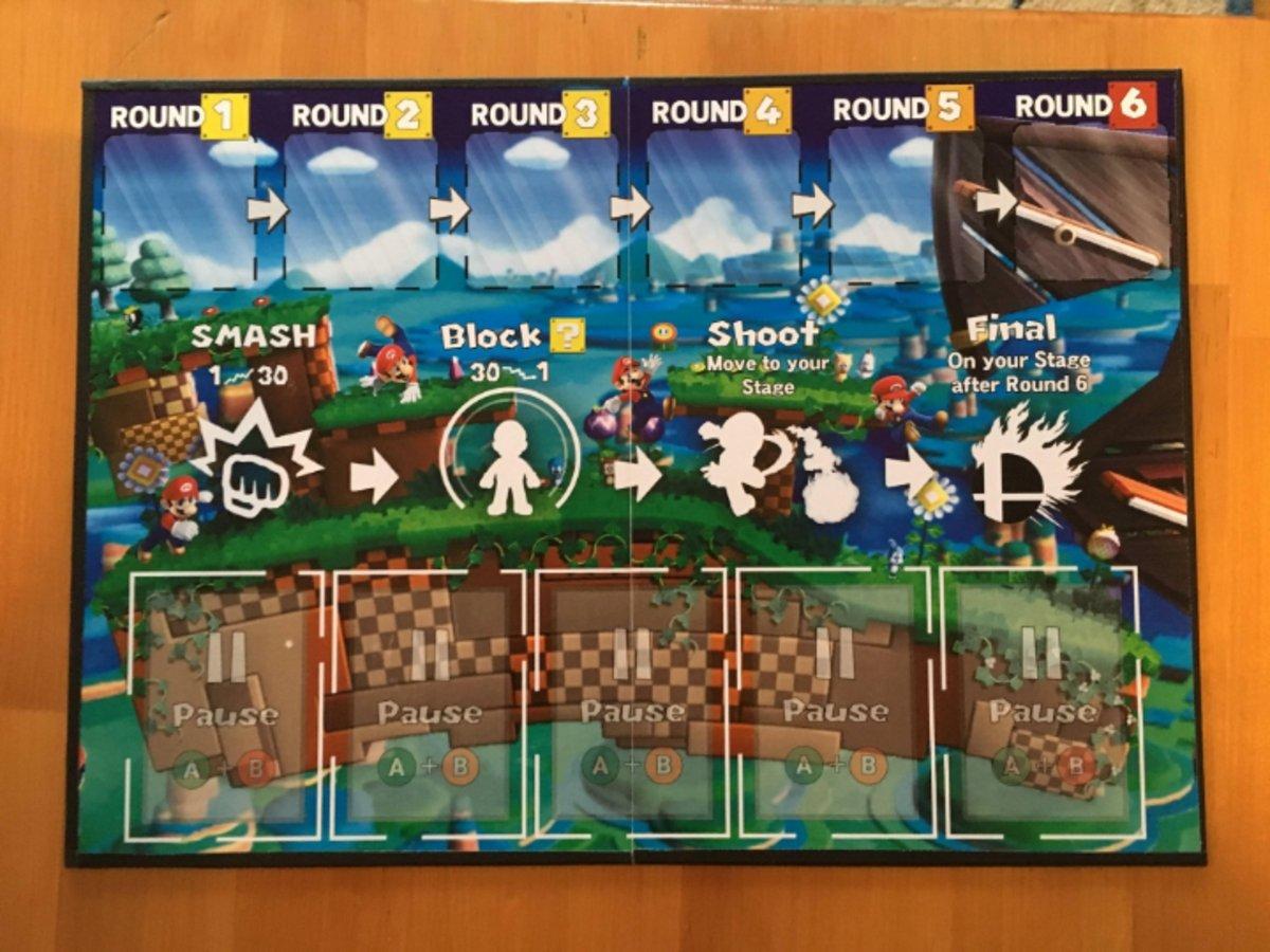 Super Smash Bros. ya tiene su propio juego de mesa, pero no es el único