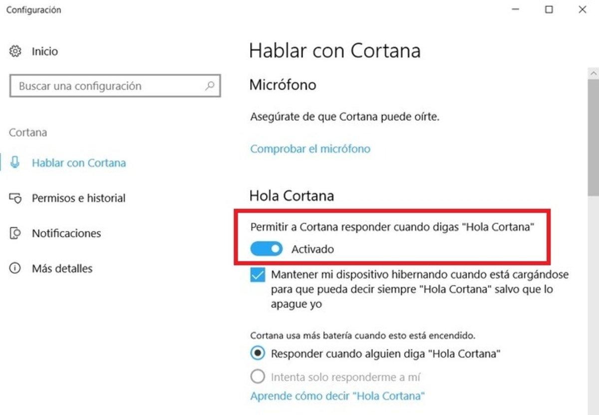 Cómo desactivar Cortana en Windows 10 para PC