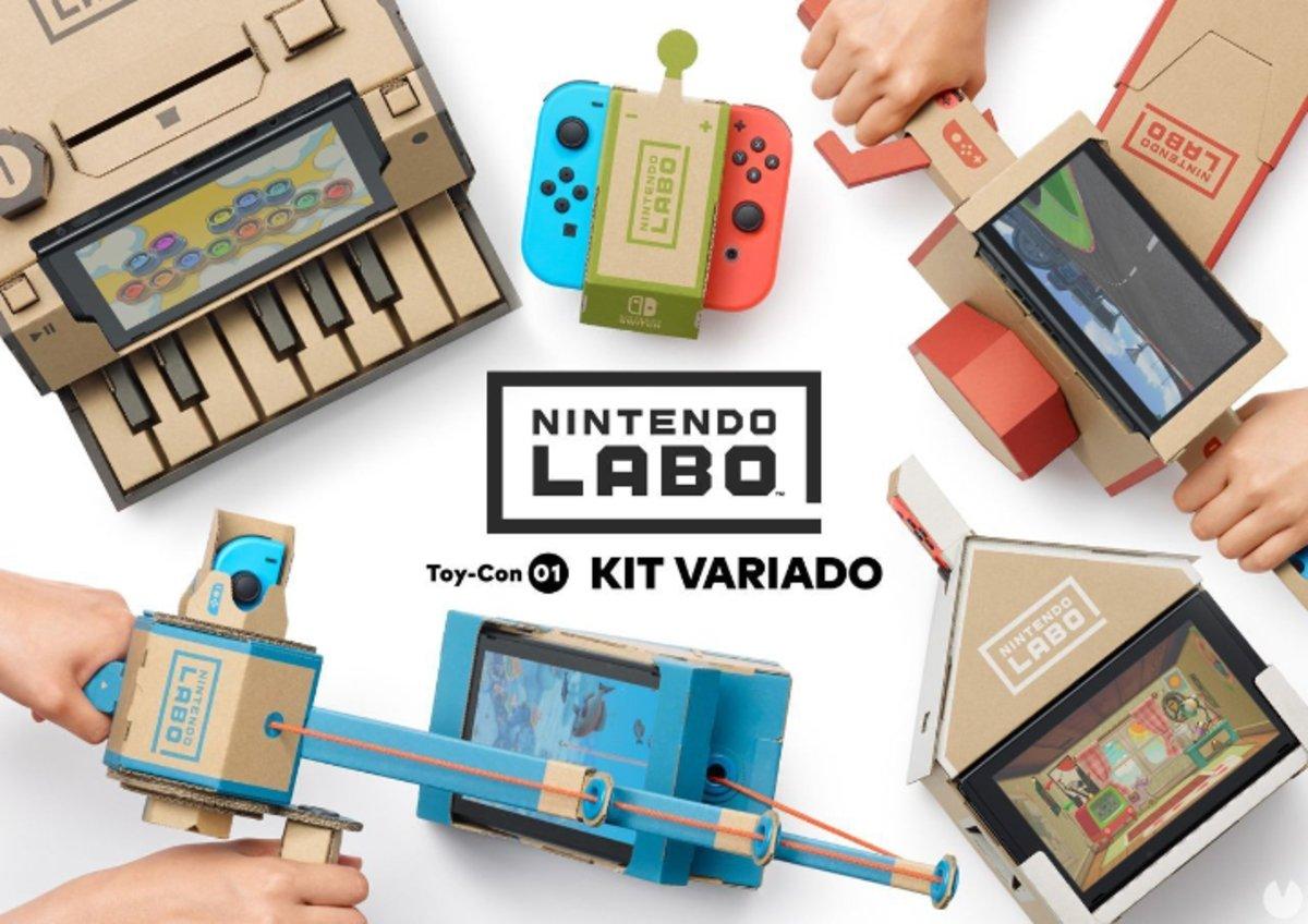 El Día del Cartón ha llegado: Nintendo Labo ya está aquí
