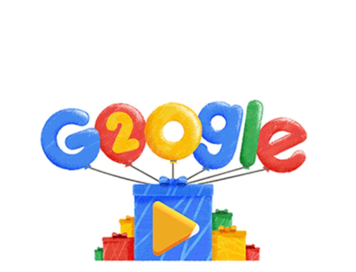 Google celebra su 20 aniversario con secretos a tu alcance