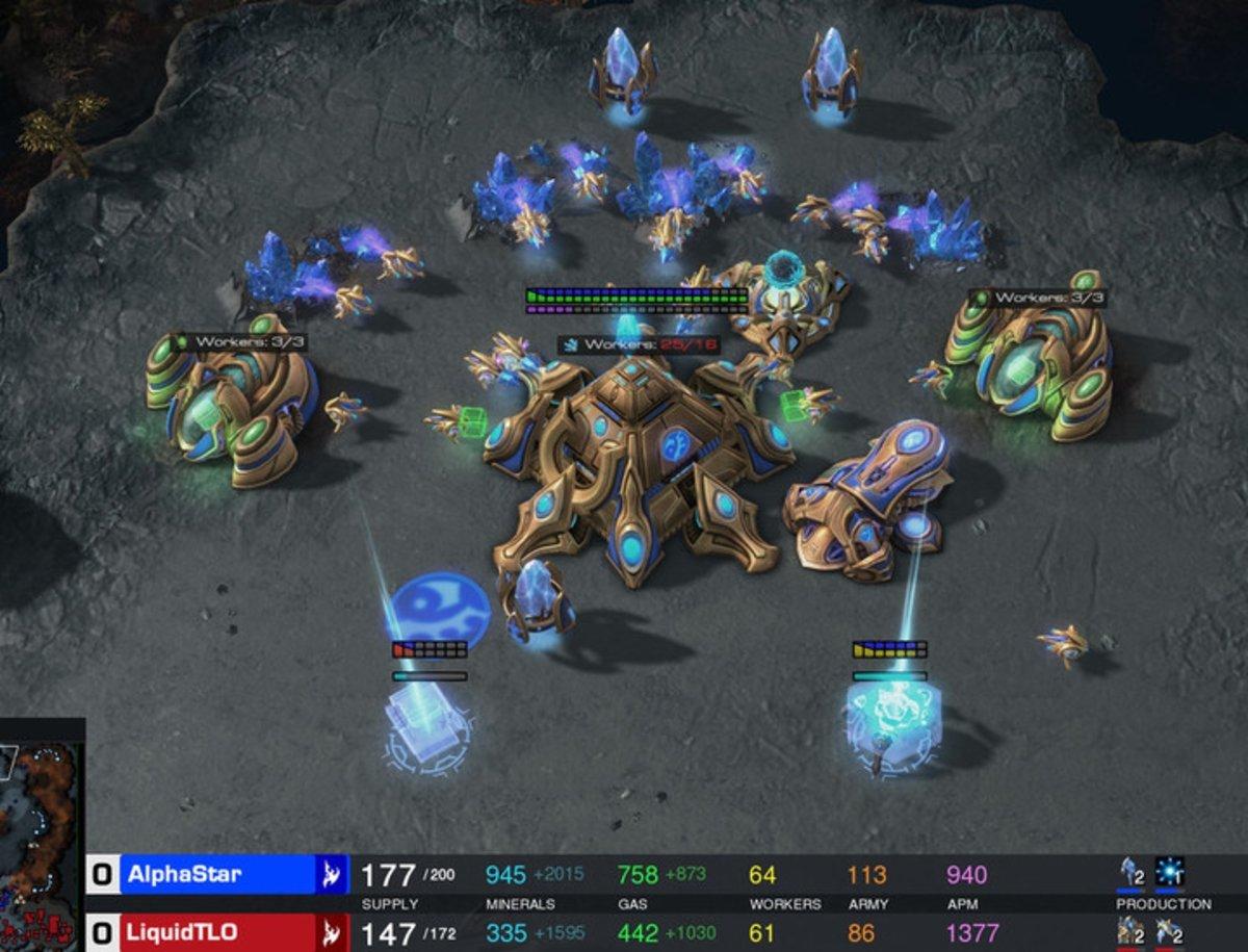 La IA de DeepMind derrota a jugadores profesionales de Starcraft II