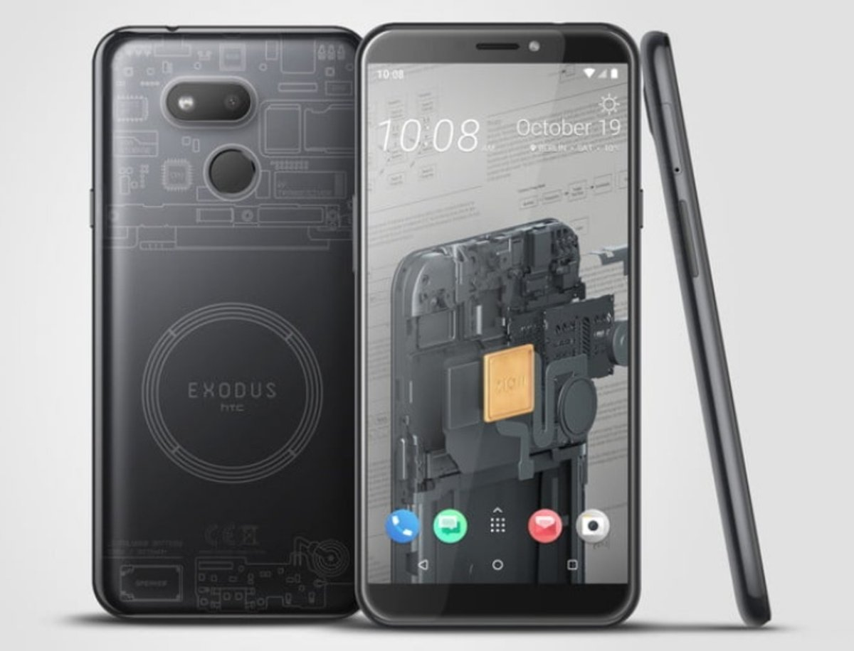 HTC prueba suerte con un teléfono móvil centrado en las criptomonedas