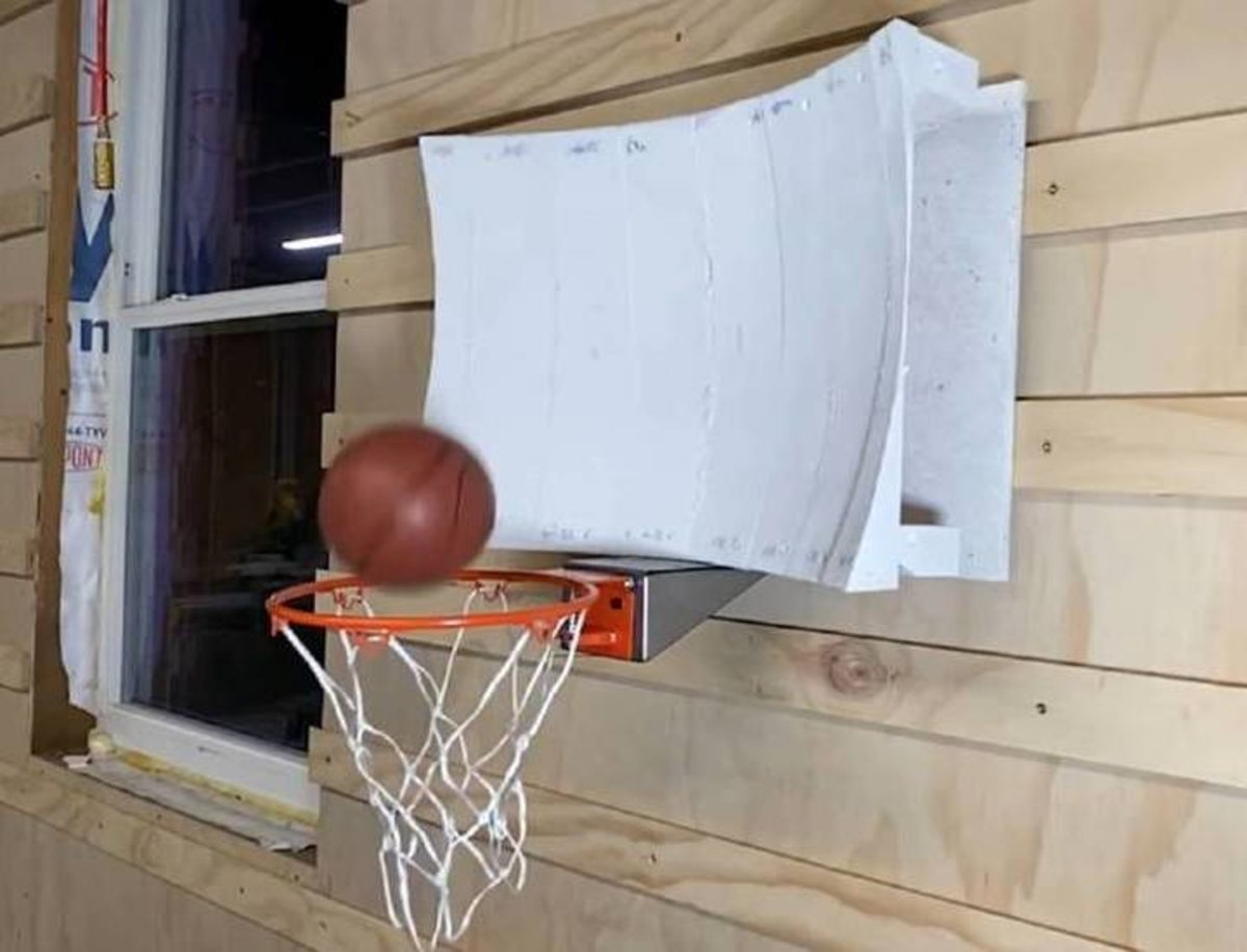 Así funciona la canasta de baloncesto con la que no fallarás ningún tiro