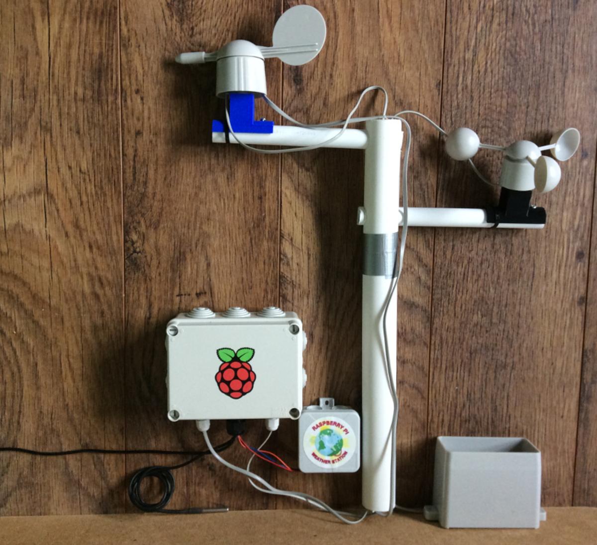 Una Raspberry Pi como estación meteorológica