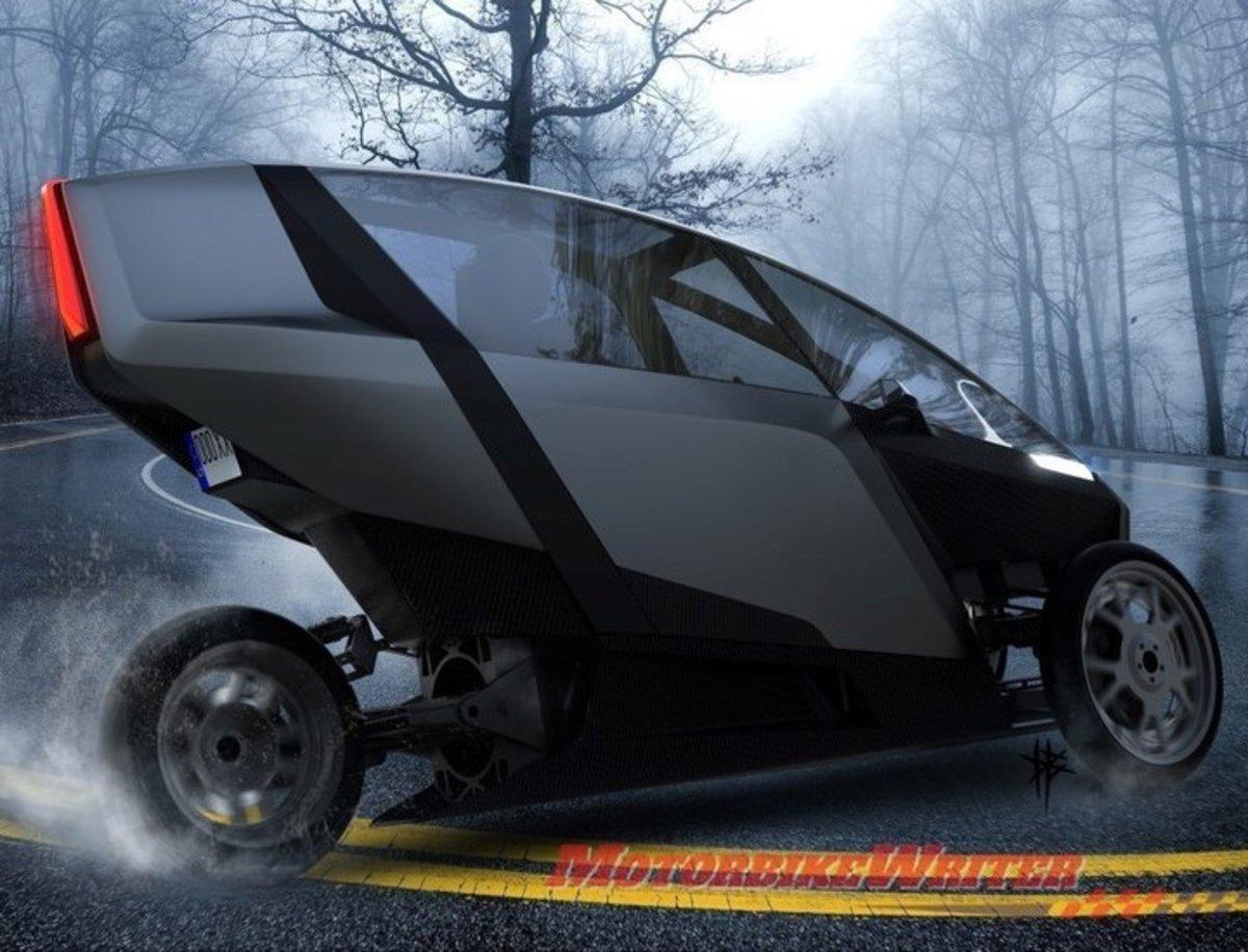 AKO, el coche eléctrico de 3 ruedas para hacer de la diversión su principal virtud