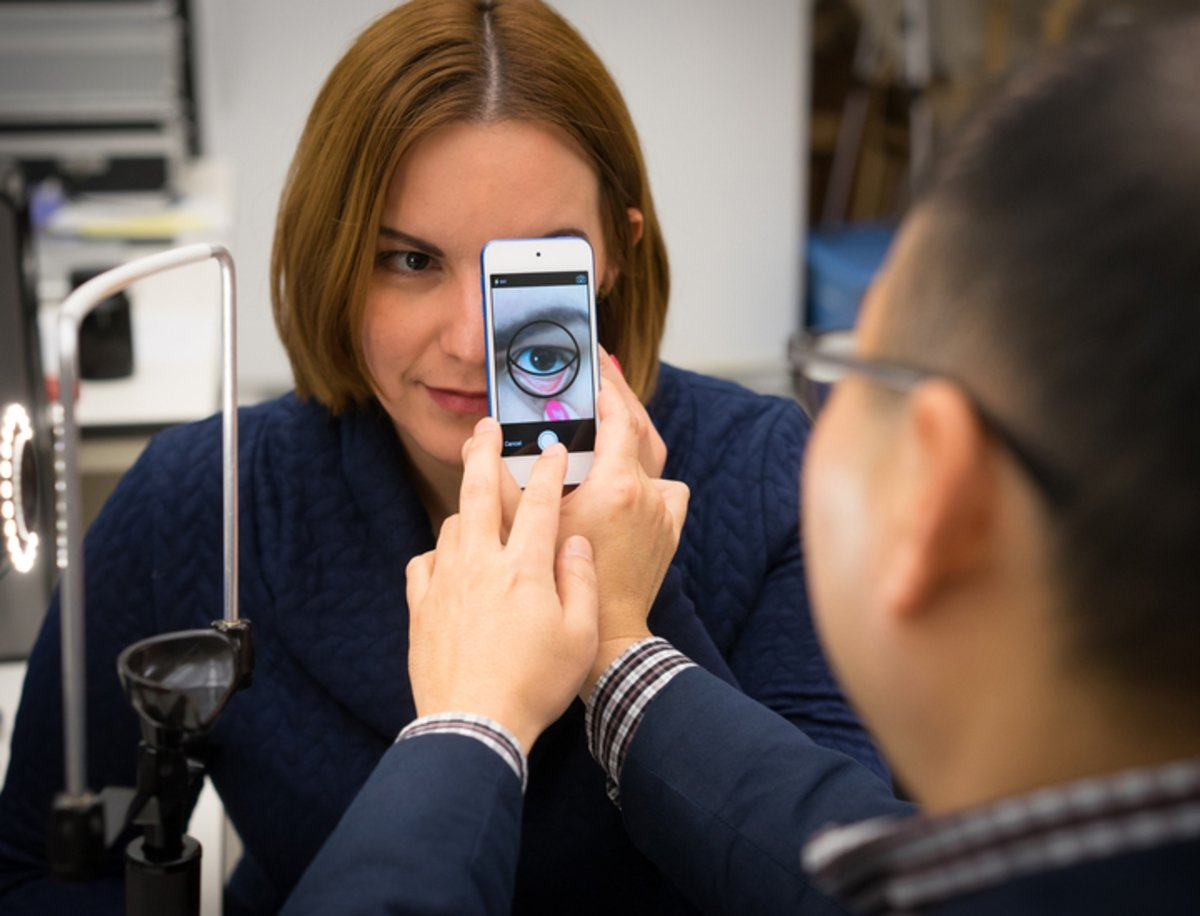 Crean una app para detectar casos de anemia con tan solo una fotografía del ojo
