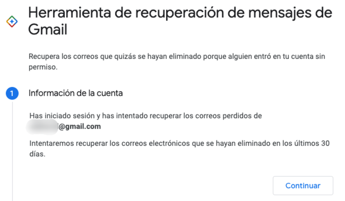 Recuperar correos eliminados de Gmail