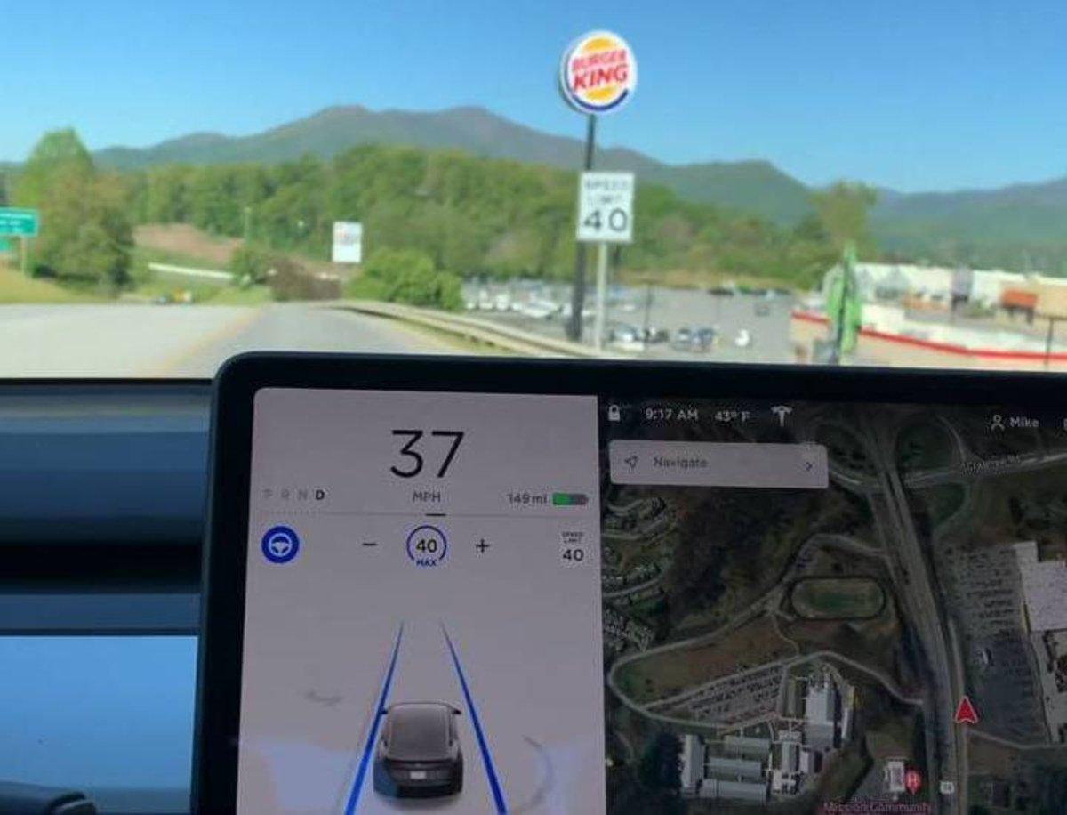 Burger King aprovecha un fallo del Autopilot de Tesla para promocionar sus productos