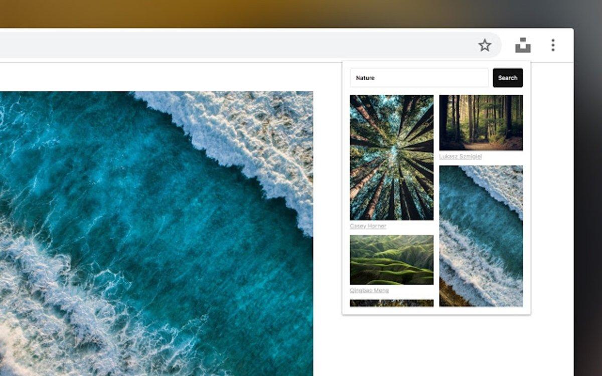 Unplash para Chrome