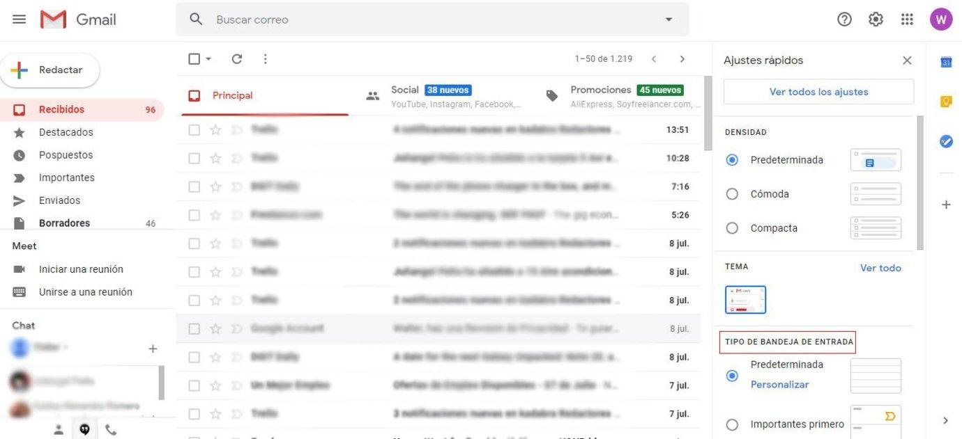 Los mejores consejos para personalizar tu bandeja de entrada de Gmail