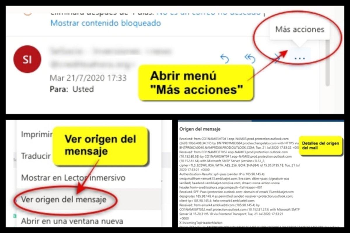 Cómo saber si un mail es falso