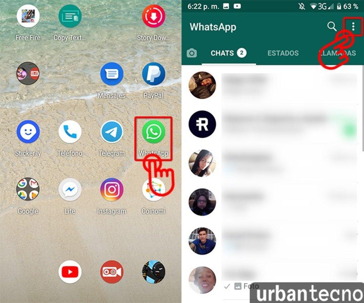 Como hacer una copia de seguridad de forma local en WhatsApp