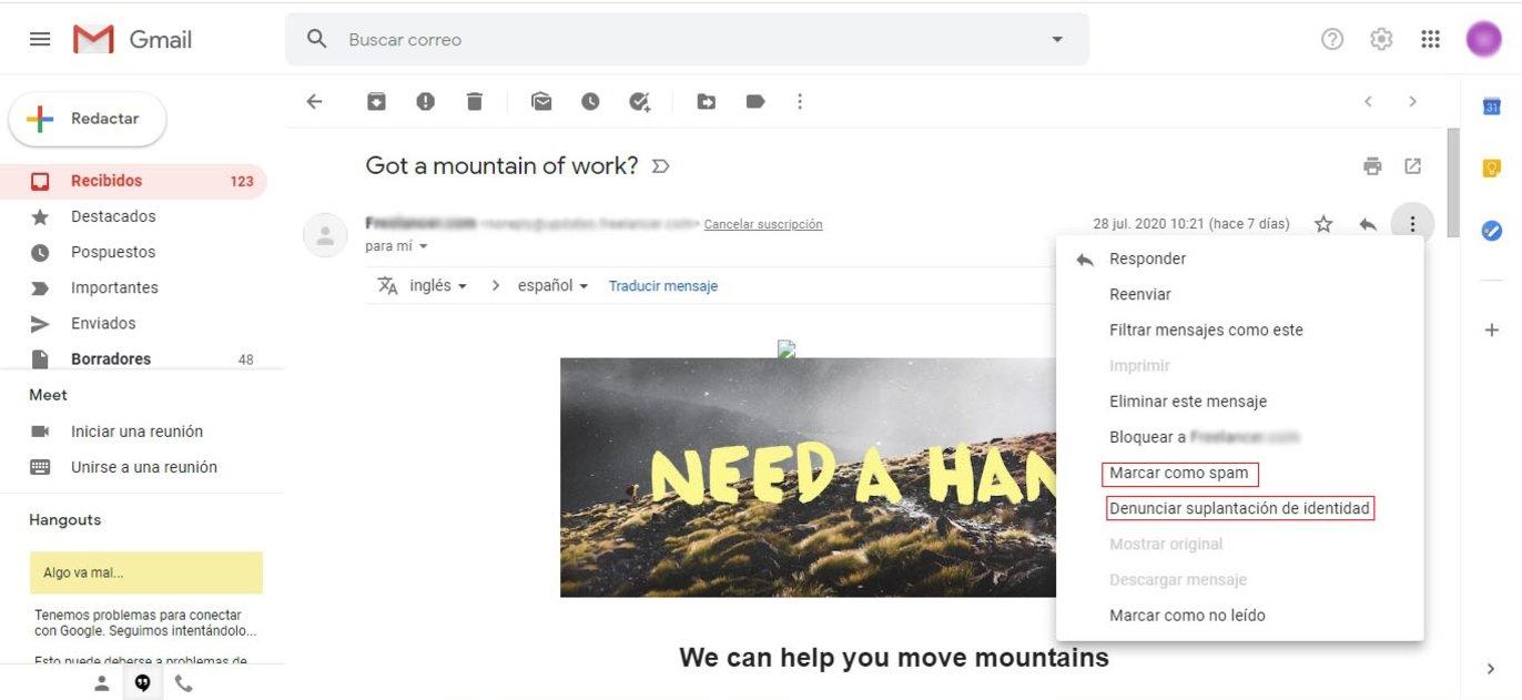 Bloquear direcciones de correo electrónico en Gmail: guía rápida paso a paso