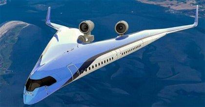 El avión del futuro tendrá una imagen muy distinta al actual para mejorar la autonomía