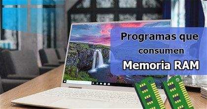 Cómo ver los programas que están consumiendo la memoria RAM en Windows