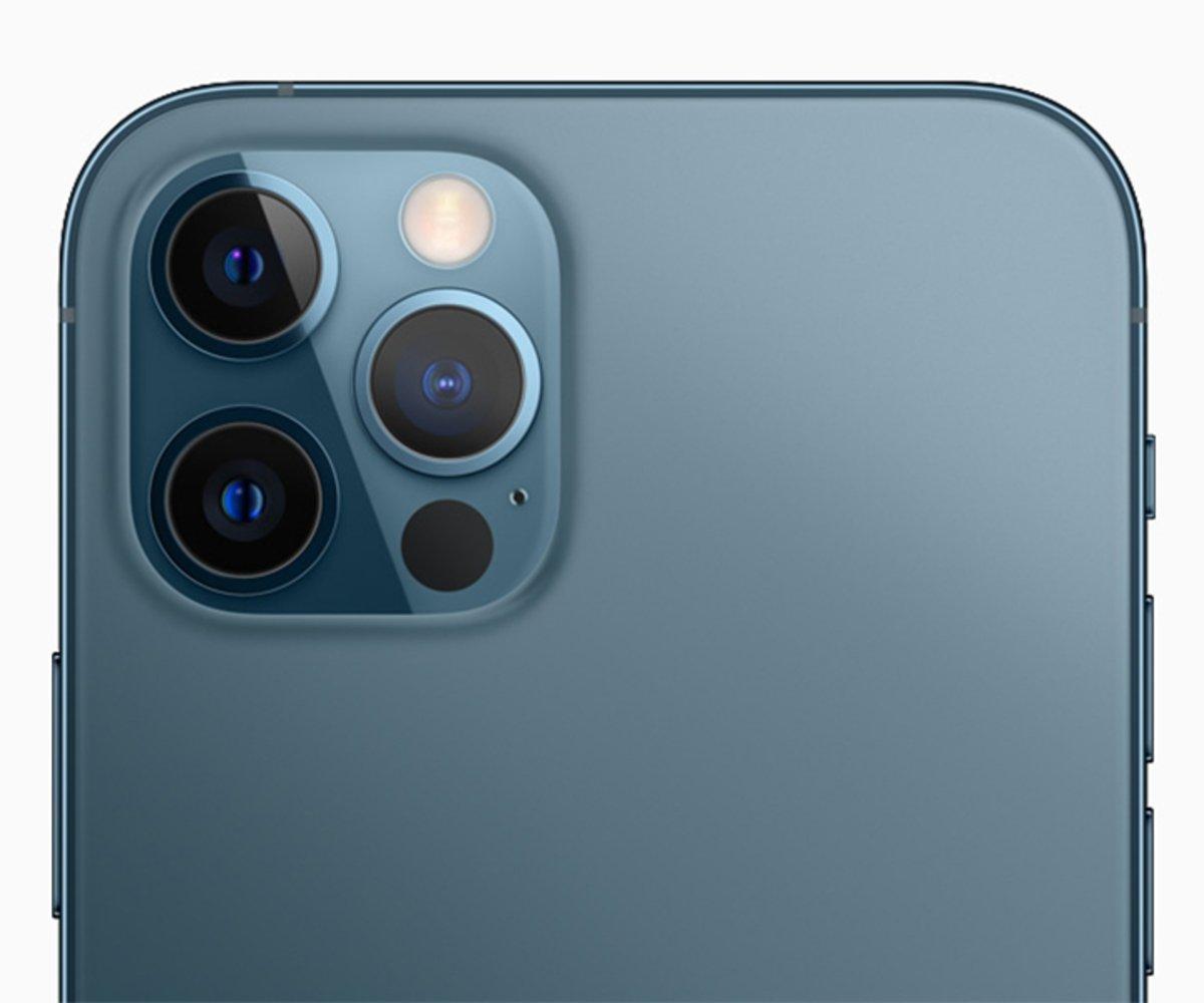 Camaras del iphone 12