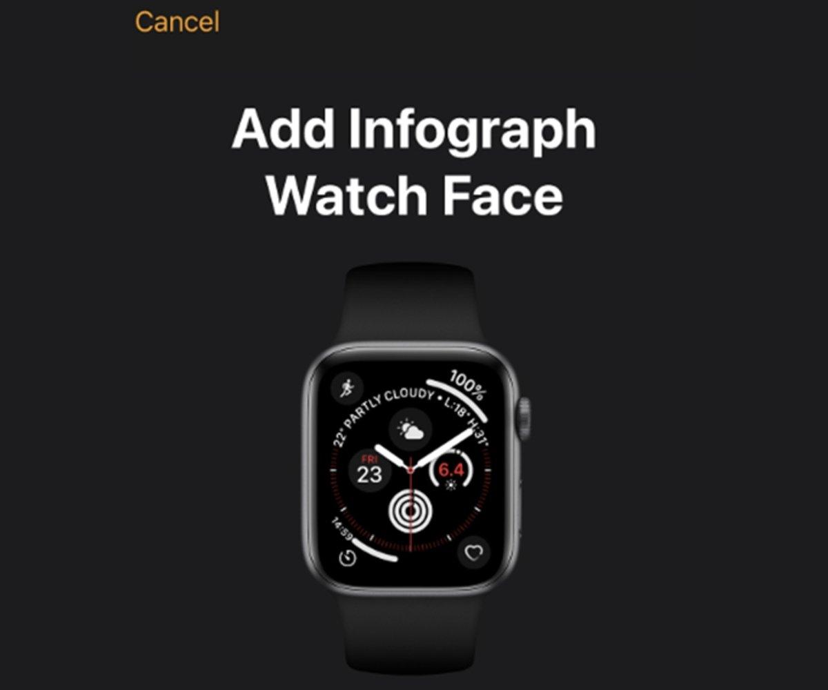 Como recibir una esfera para tu Apple Watch