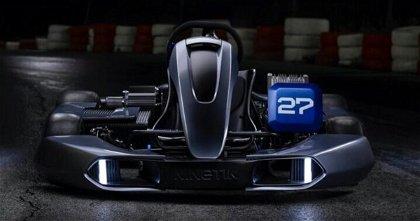 El kart eléctrico es una realidad, así es el modelo de Kinetik Automotive