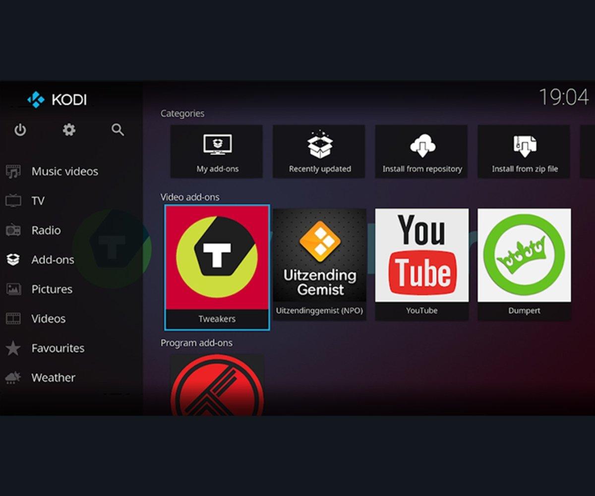 Kodi aplicaciones IPTV más populares dentro de los Android TV