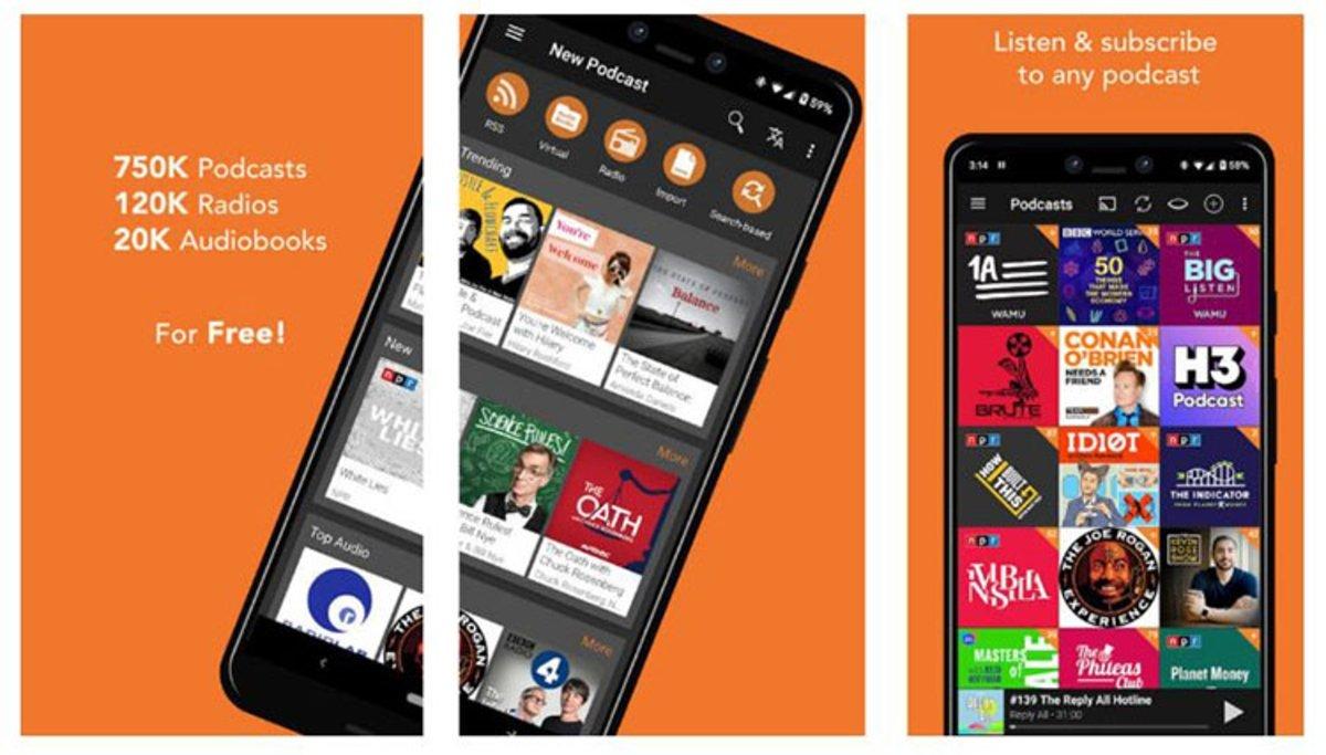 Estas son las apps que todo fanático de los podcast debe tener