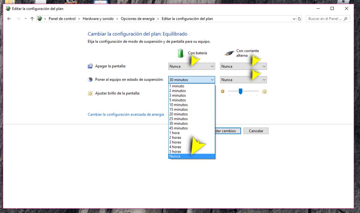 Cómo evitar que el ordenador entre en modo suspensión automáticamente