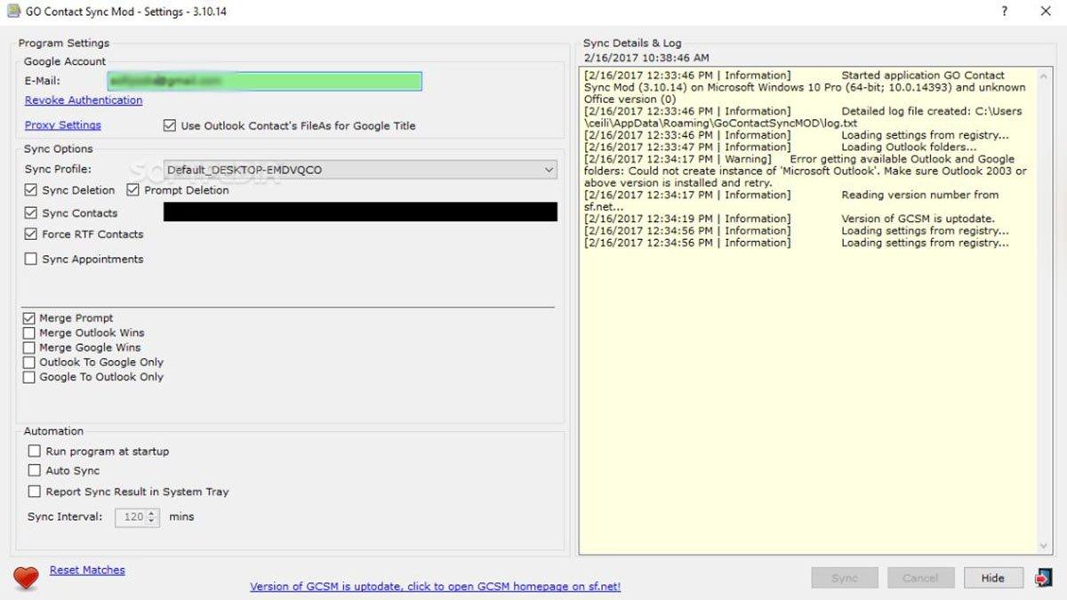 Cómo transferir tu contactos de Gmail a Outlook