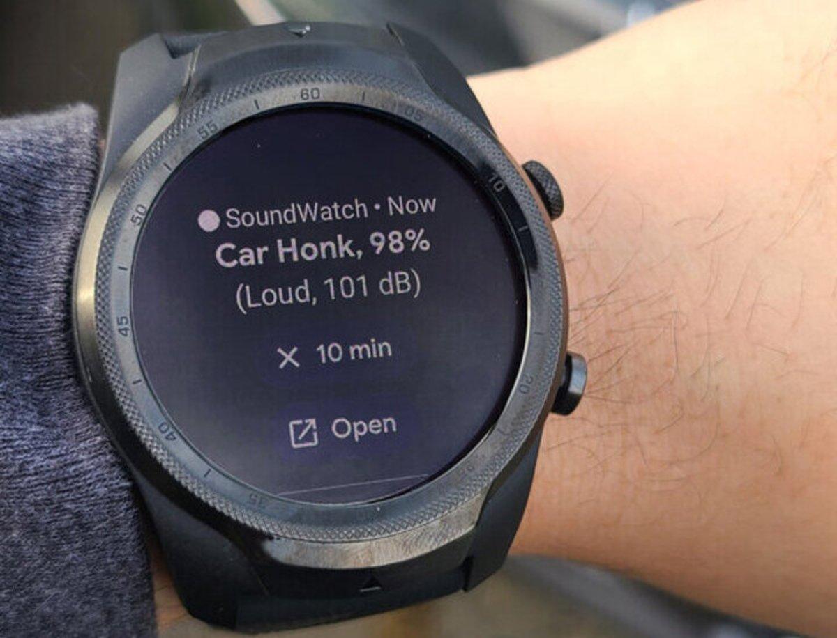 SoundWatch, el reloj inteligente pensado para avisar a las personas sordas
