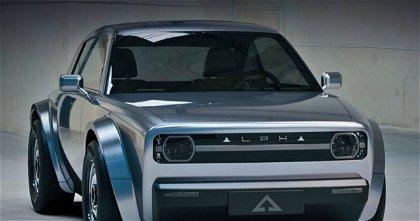 Alpha ACE, un nuevo coche eléctrico que apuesta por un diseño retro