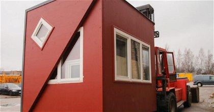 Brette Haus, la casa plegable con la que podrás vivir en cualquier sitio cuando quieras