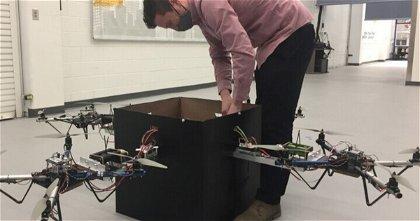 Drones cooperativos, la última innovación para su llegada al sector de la paquetería