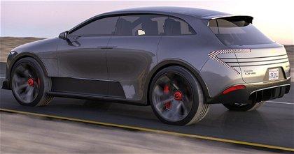 Humble One, el coche eléctrico con paneles solares desplegables cuando estaciona