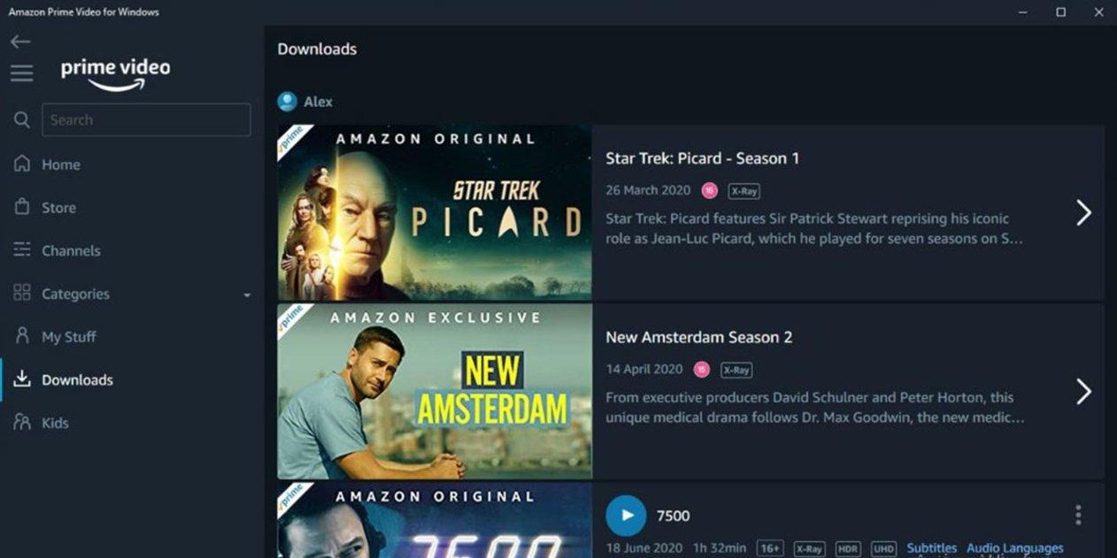 Cómo descargar series y películas de Amazon Prime Video para verlas sin conexión
