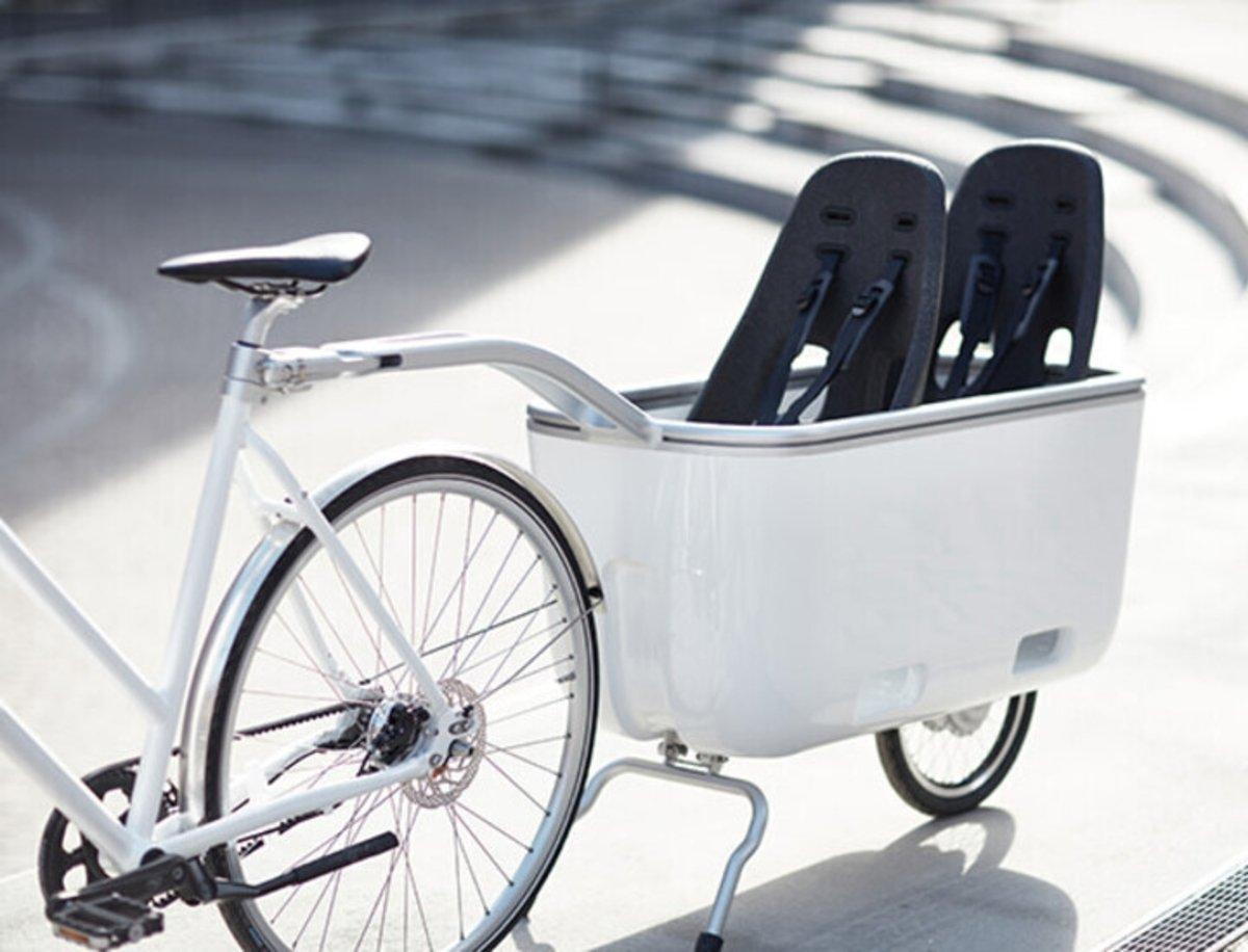 Biomega Ein, un remolque eléctrico para bicicleta que extenderá la autonomía en la ciudad