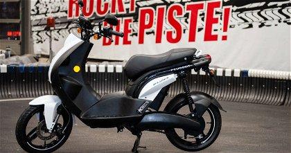 Así es uno de los scooters eléctricos de Peugeot Motocycles