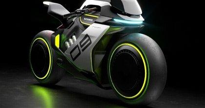 Segway Apex H2, la motocicleta venida del futuro que funciona con hidrógeno