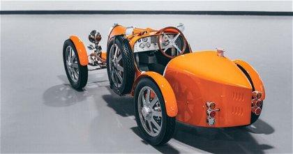 Bugatti Baby II, la recreación del mítico Type 35 como juguete y con motor eléctrico